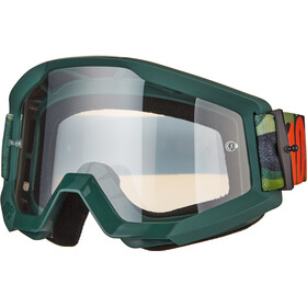 100% Strata Goggles huntsitan-clear
